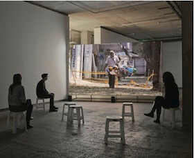 Jaki Irvine, Se Compra: Sin é, 2014, HD DVD 17 mins 37 seconds, courtesy the artist and Frith Street Gallery, London, photo by Alex Delfanne