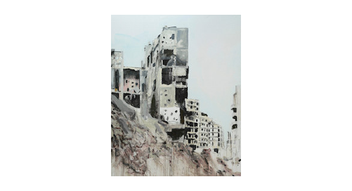 War Changes Its Address: The Aleppo Paintings | Brian Maguire at IMMA