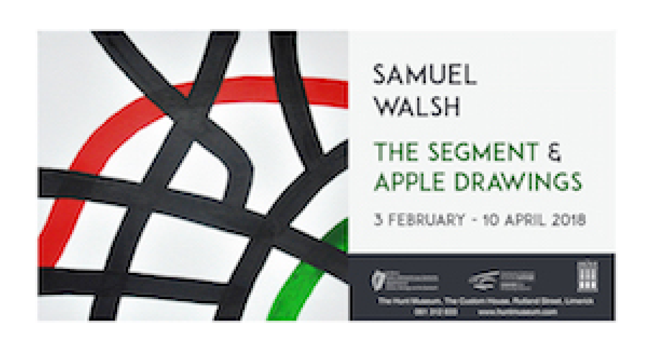 The Segment and Apple Drawings   Samuel Walsh at The Hunt Museum
