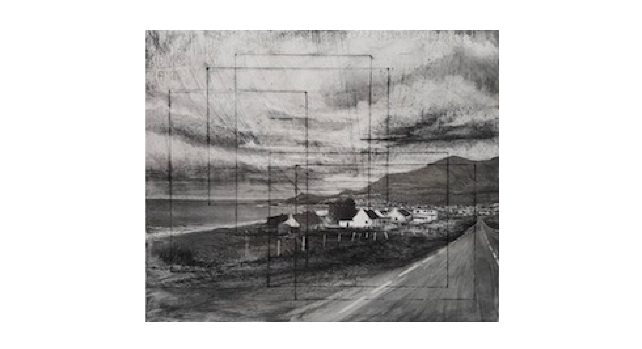 Achill Notes   Michael Wann at The Custom House Gallery and Studios