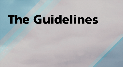 The Guidelines