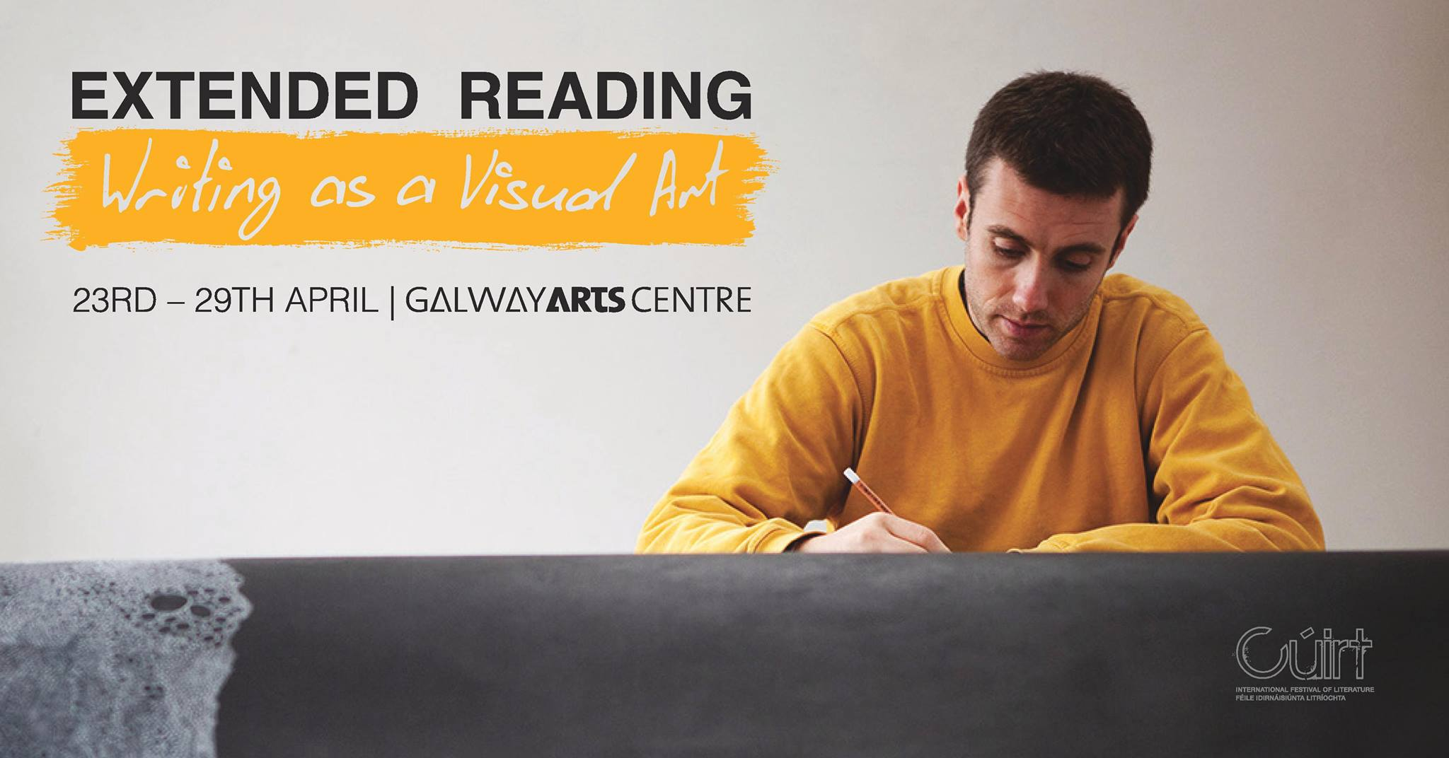 Extended Reading – Writing as a Visual Art | Sam Winston at Galway Arts Centre