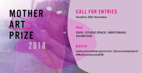 Open Call | Mother Art Prize 2018, London (Submission Fee)