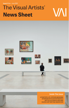 May / June 2019 Issue of the Visual Artists' News Sheet