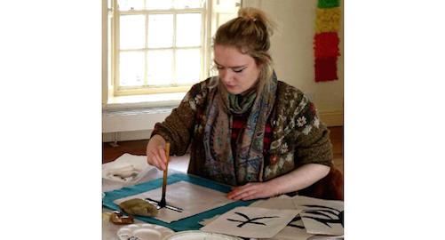 Japanese Black Ink Painting Workshop with Karen Colbert, Co. Waterford