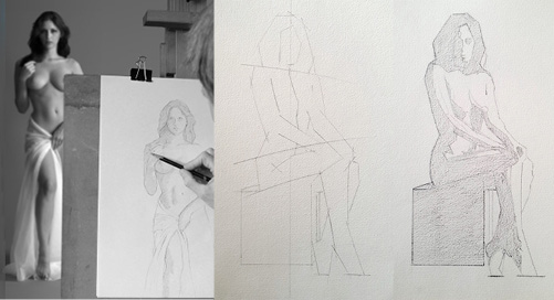 10-Week Life Drawing Course, Waterford