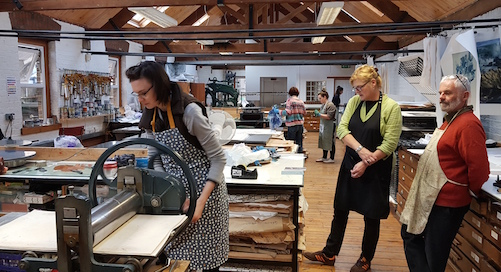 Printmaking Courses at Graphic Studio Dublin this October and November