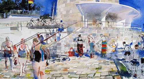 A Fresh Approach to Watercolours with John Short at Artform, Co. Waterford