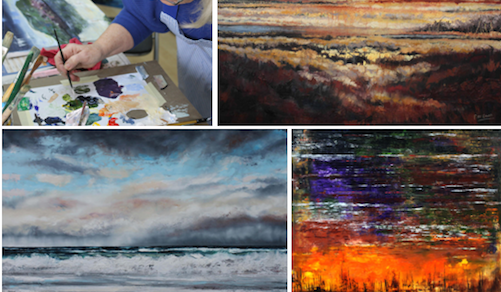 Abstracts in Land and Sea | Sunday Oil Painting Workshop, Co. Sligo