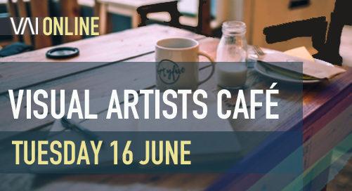 Webinar | Visual Artists Café - Kiera O'Toole & Miguel Martin
