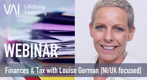 Webinar: Finances & Tax for self-employed artists with Louise Gorman