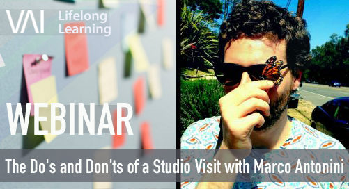Webinar | The Do's and Don'ts of a Studio Visit with Marco Antonini