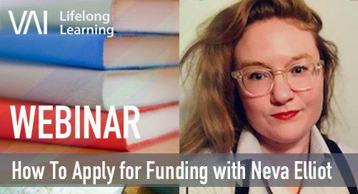 Webinar | How to Apply for Funding with Neva Elliott