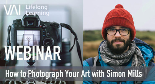 Webinar   How to Photograph Your Art with Simon Mills