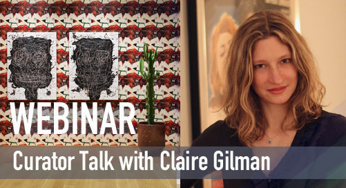 Webinar   Curator Talk with Claire Gilman (The Drawing Centre, New York)
