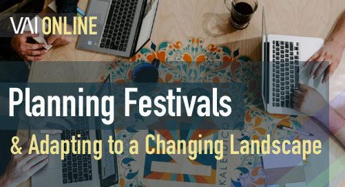 Webinar   Planning festivals & adapting to a changing landscape