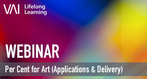 Webinar   Per Cent for Art (Applications & Delivery)