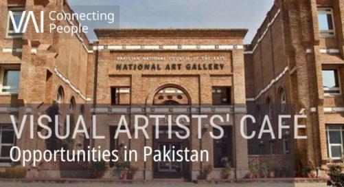 Webinar   Visual Artists' Café: Opportunities in Pakistan