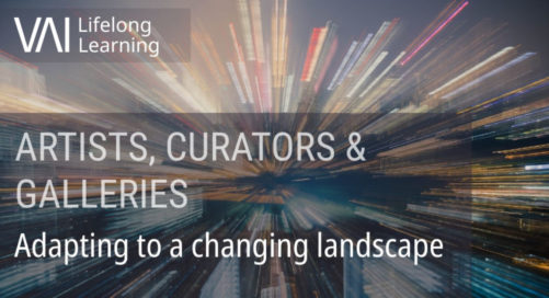 Webinar   Adapting to a Changing Landscape (Artists, Curators & Galleries)