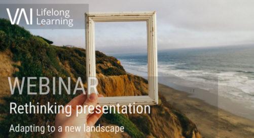 Webinar   Rethinking Presentation - adapting to a new landscape