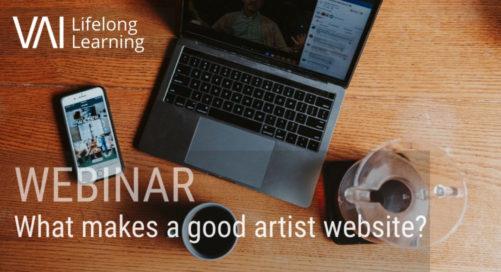 Webinar   What Makes a Good Artist Website?