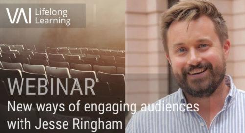 Webinar   New Ways of Engaging Audiences - Jesse Ringham (Serpentine Galleries)