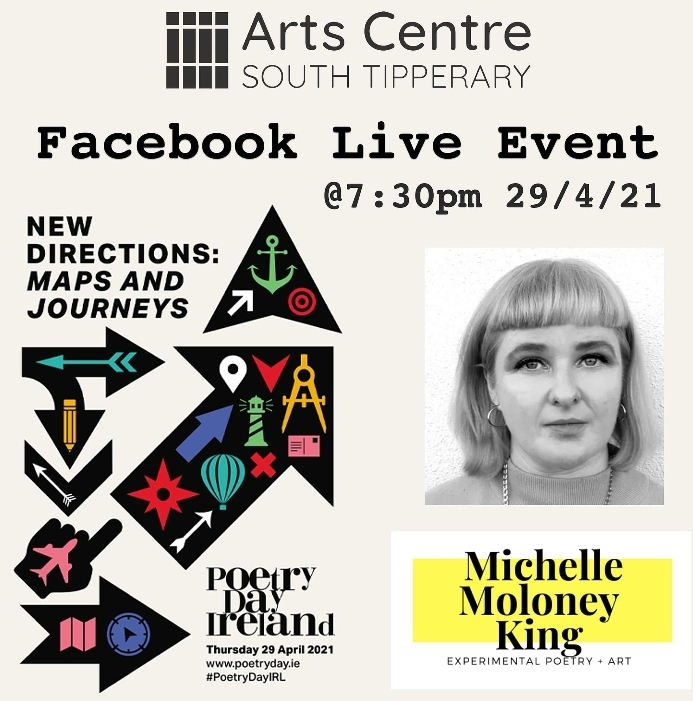 Online Event | Experimental poetry and Visual poetry Workshop with Michelle Moloney King