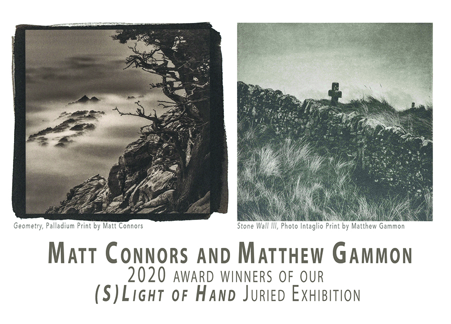 (s)Light of Hand 2020 Award Winners Exhibition | Matthew Gammon and Matt Connors at The Photographer's Eye Collective, USA