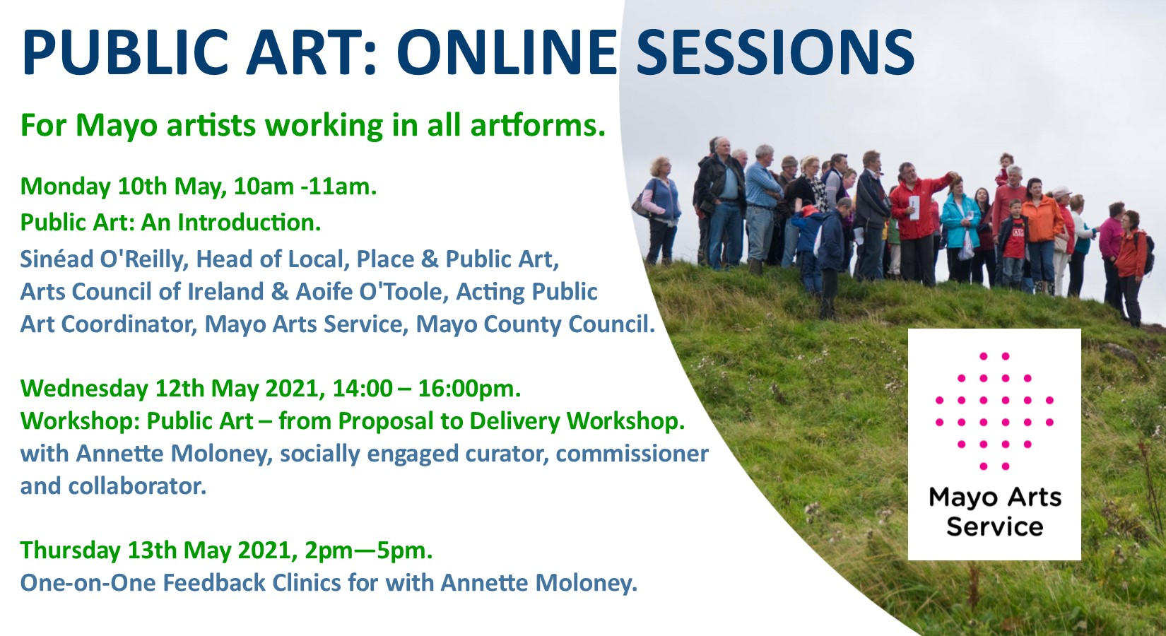 Online Talk | Public Art: An Introduction for Mayo Artists