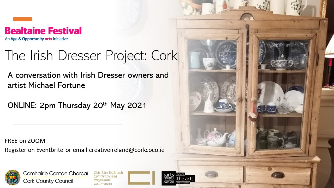 The Irish Dresser Project: County Cork | Online Event with Michael Fortune