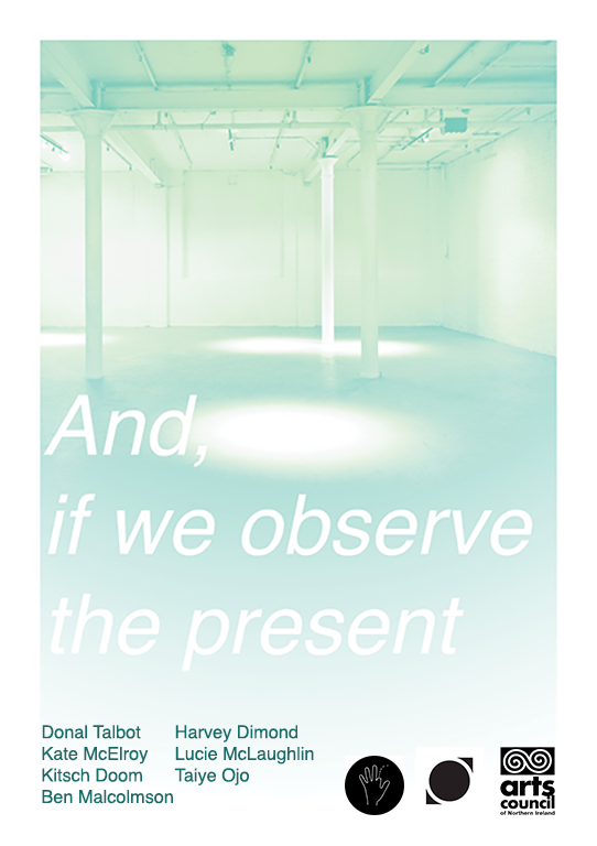 Online Artist Event | And if we observe the present: A Reading