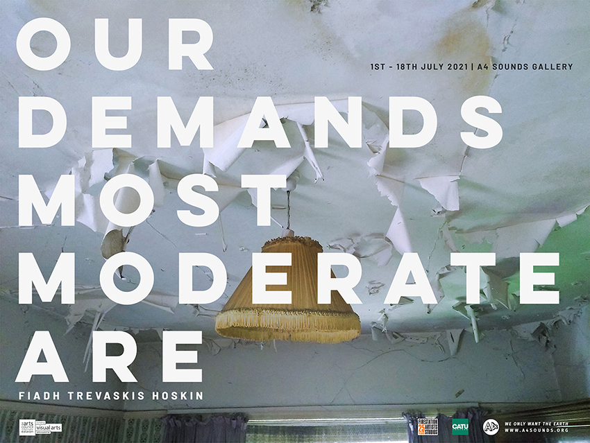 Our Demands Most Moderate Are   Fiadh Trevaskis Hoskin at A4 Sounds Gallery, Dublin
