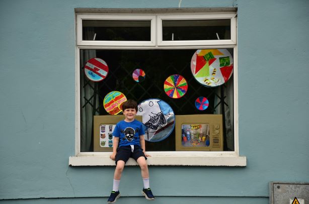 Our World in a Window   Helium Arts at Silkes Arts and Crafts, Limerick