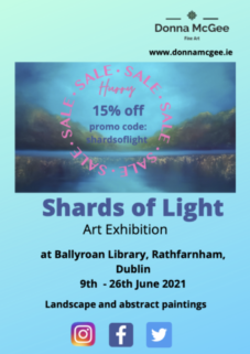 Shards of Light | Donna McGee at Ballyroan Library
