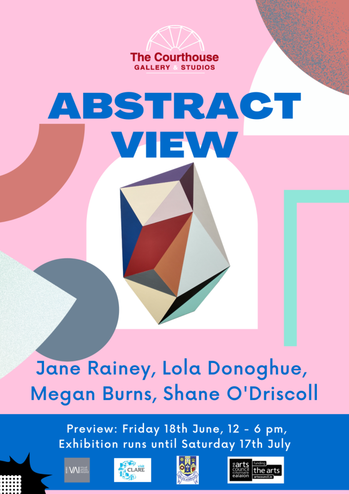 Abstract View   Group Exhibition at The Courthouse Gallery and Studios