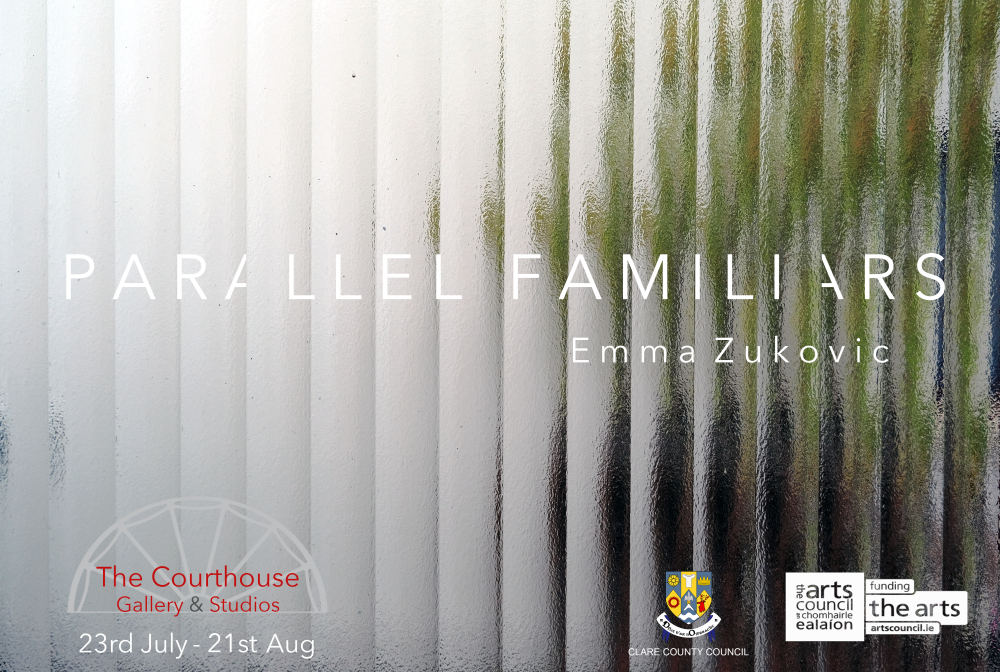 Parallel Familiars by Emma Zukovic and The Inability to Properly Convey a Point by Burt Pidgin | The Courthouse Gallery and Studios