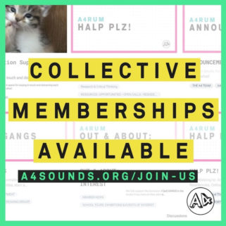 Collective Memberships Available at A4 Sounds (Digital)