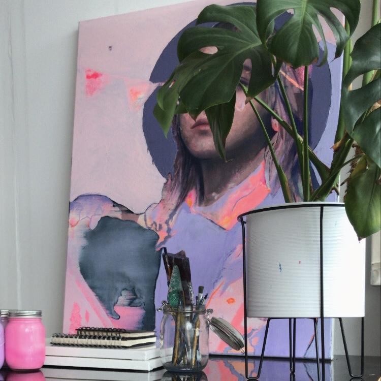 Pop-up Art Studio | Alana Barton at Victoria Square, Belfast