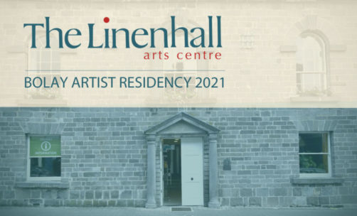 Deadline Reminder | Bolay Artist Residency at the Linenhall Arts Centre, Mayo