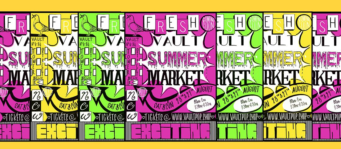 Vault Summer Market at Vault Artist Studios