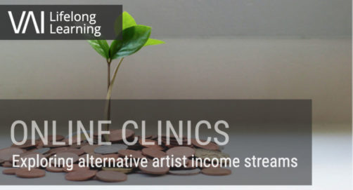 VAI Clinic   Exploring alternative artist income streams to support your practice (26 October)