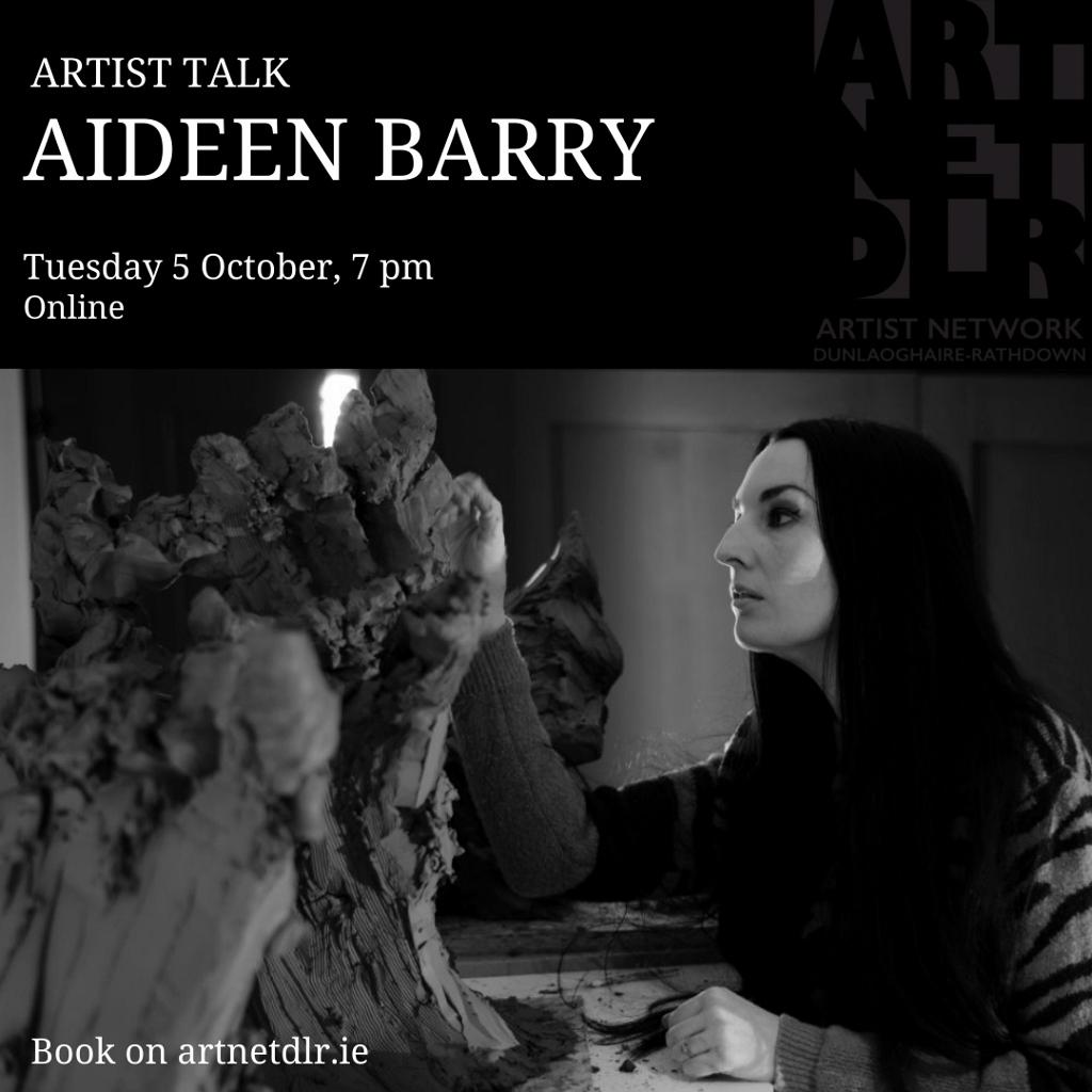 Online Artist Talk | Aideen Barry with ArtNetdlr