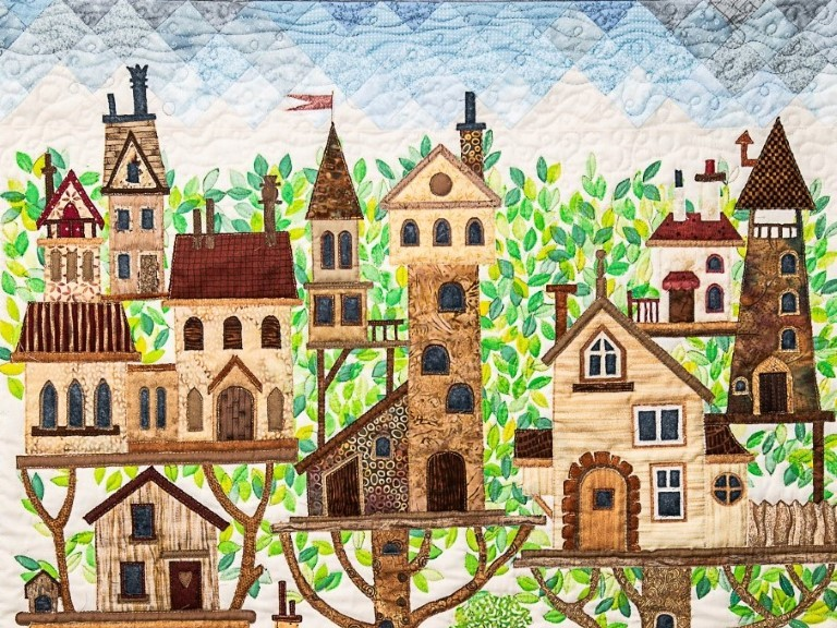 There's No Place Like Home   Loose Thread Quilters at Larne Museum and Arts Centre