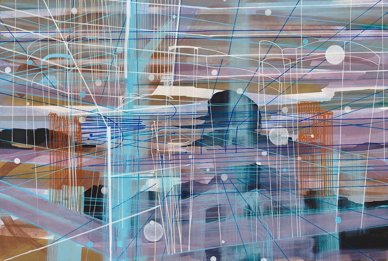 Fragmented Perception | Trudi van der Elsen at Galleria Weber and Weber, Turin, Italy