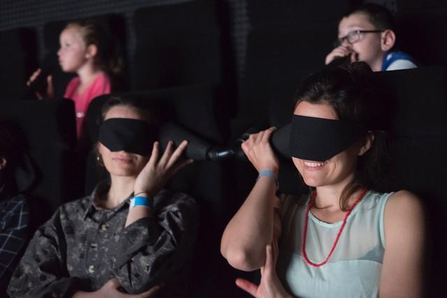 Blind Cinema   Britt Hatzius at Belltable, Limerick