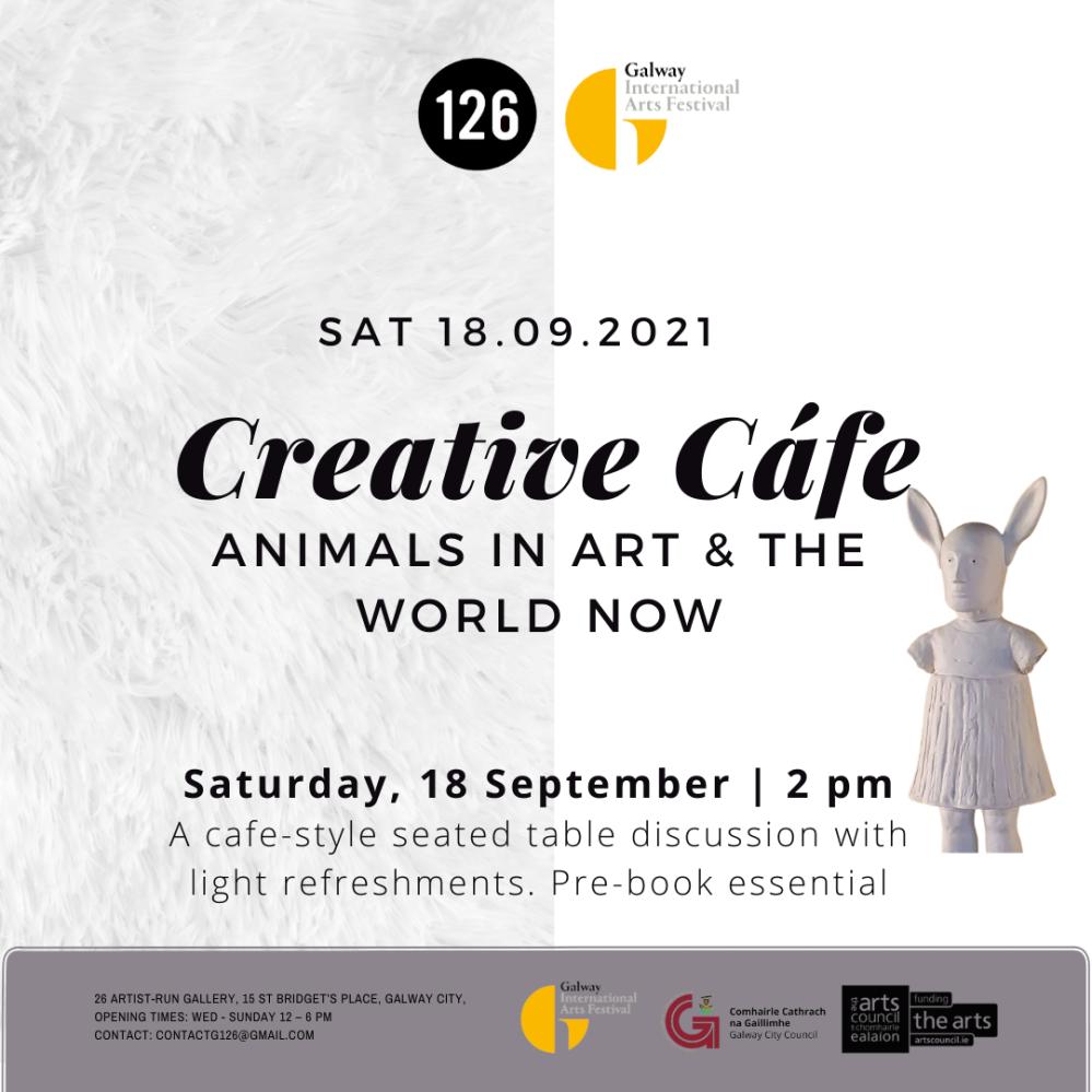 Artist Event   Creative Café at 126 Artist-Run Gallery