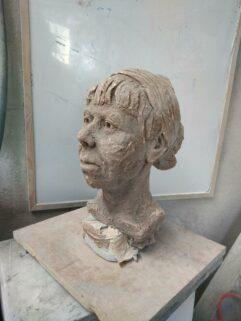 Workshop   Modelling the Head in Clay - James Horan, Artform