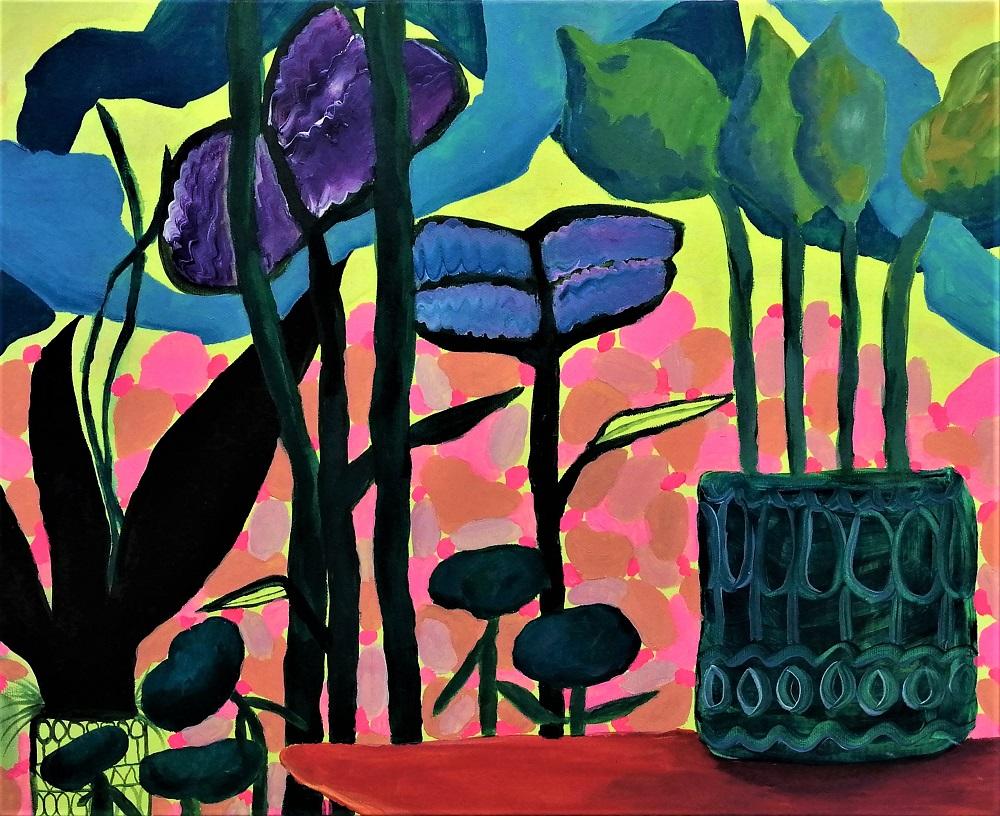 Tropical Dreamscape | Lauren Breatnagh at D'Lush Cafe, Wexford Arts Centre